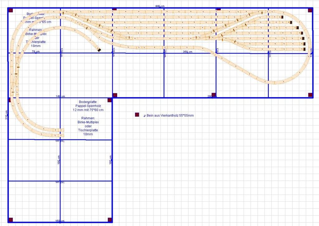 Geplantes Rahmengerüst - Holztyp - Segmentgrößen so O.K.? - Stummis ...