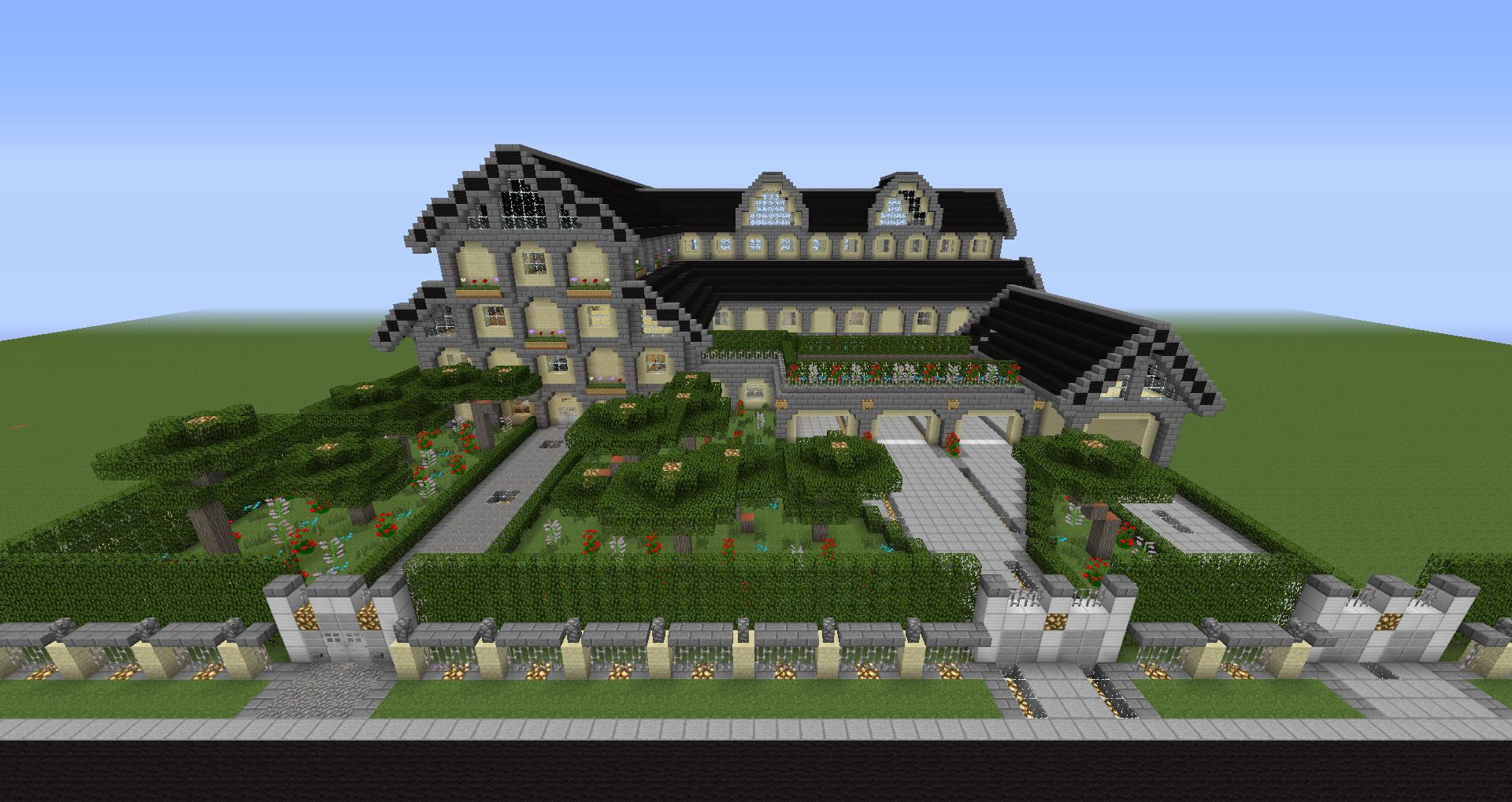 Luxus-Villa | Minecraft-Forum