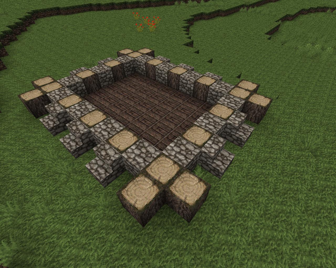 Tutorial schnell schöne mittelalterliche häuser bauen