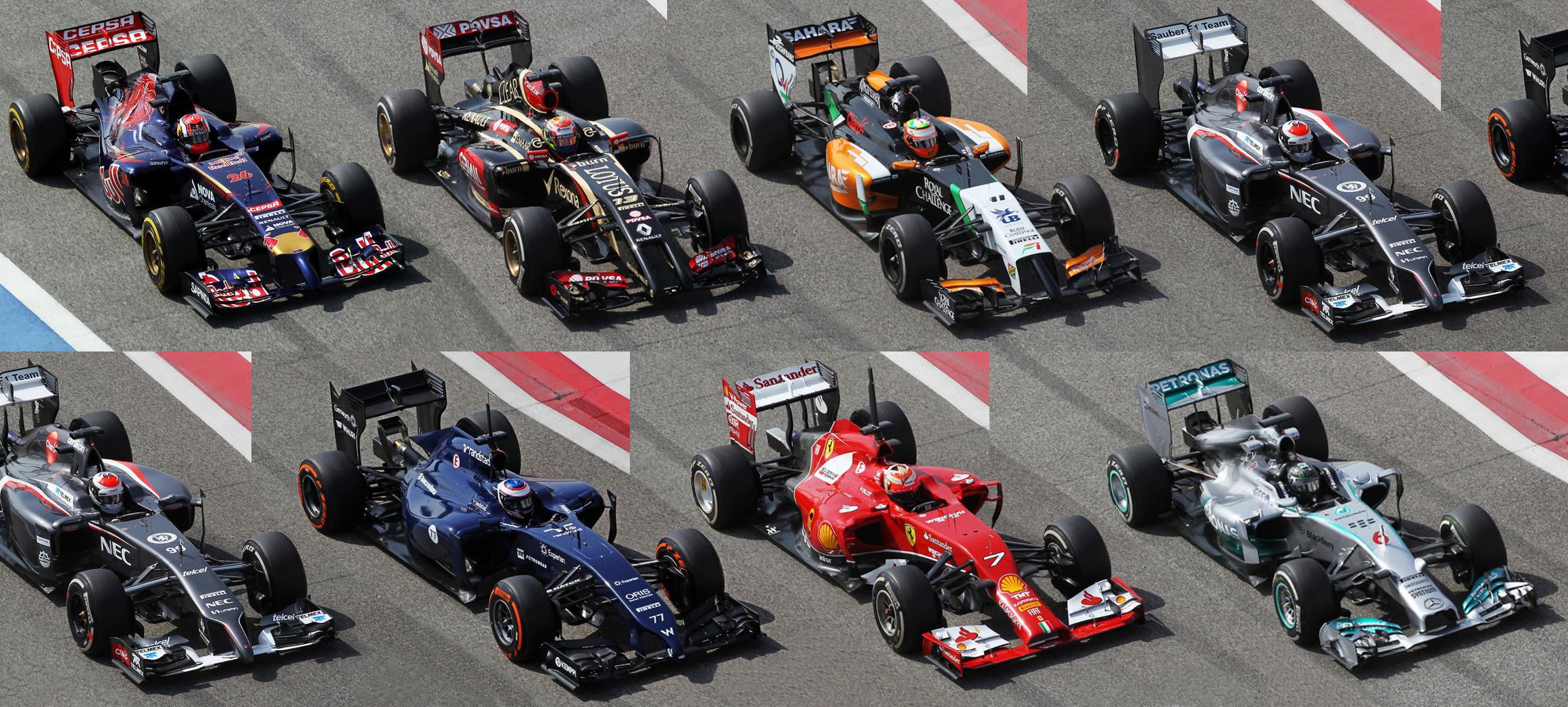 F1 2014 Car Comparison Thread Page 9 F1technical Net